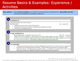 Resume Basics by Business Case Study Presentation Examples
