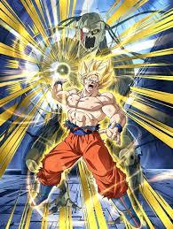 overheating super power super saiyan goku dragon ball dokkan