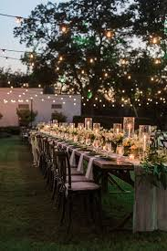 Backyard Rustic Wedding by Best 10 Outdoor Wedding Tables Ideas On Pinterest Outdoor