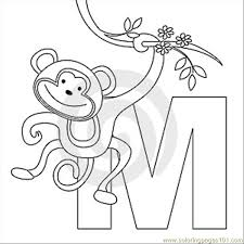 M Coloring Page Thumb9999273 Coloring Page Free Alphabets M Coloring Pages