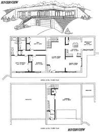 earth contact home plans lovely underground home plans underground homes pinterest