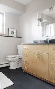 slate bathroom tile with brown stone floor shower handheld head