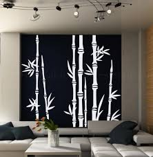 modern wall decals for living room bamboo tree wall decal living room wall decal tree wall pertaining