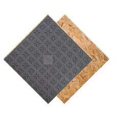 barricade air plus subfloor panel with air gap technology lowe s