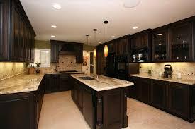 dark brown kitchen cabinets kitchen decoration