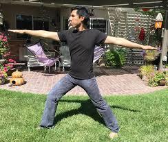 men u0027s gray hand dyed yoga lounge activewear tie dye pants with