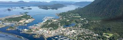 Hoonah Alaska Map by Sitka Fly Alaska Seaplanes