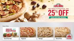 papa cuisine papa s unveils customizable pizza ordering app for apple tv