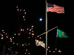 American Flag Christmas Lights Port Of Everett U0027s Holiday On The Bay Celebration Is This Weekend