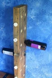 rustic wall mounted wine rack foter