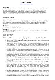 Intelligence Analyst Resume Examples by Business Intelligence Resume Sample Resume Cover Letter Format