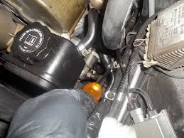 remove install power steering pump mercedes benz