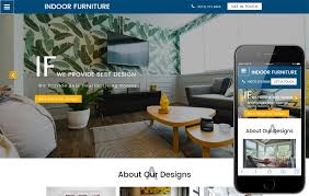 Furniture Interior by Interior Furniture Designs Mobile Website Templates