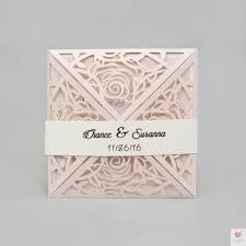 faires parts mariage faire part mariage dentelle papier chic et unique pochette laser