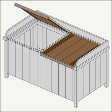 Build A Toy Box Bench by Build A Deck Box
