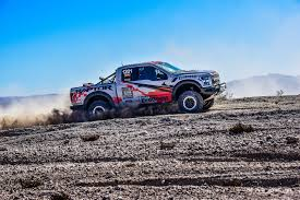 Ford Raptor Truck Jump - we race the 2017 ford f 150 raptor and win the mint 400