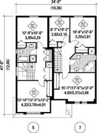 Multi Family Home Floor Plans Duplex Floor Plans Indian Duplex House Design Duplex House Map