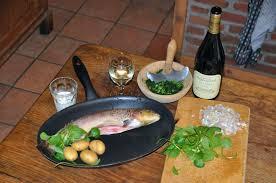 cuisiner des truites la truite au cerfeuil mediardenne