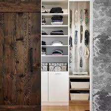 Rustic Closet Doors Rustic Closet Barn Door Design Ideas