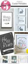 free easter printables for your home decor