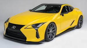 yellow lexus lfa this is apparently the world u0027s first modified lexus lc500 top gear