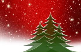 free illustration christmas tree red white snow free image