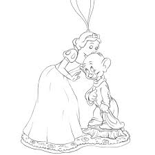 dopey and snow white ornament sketch dopey and snow whit u2026 flickr