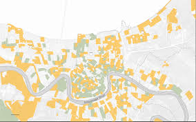 New Orleans 9th Ward Map by 10 Years After Katrina The New York Times