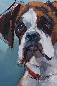 boxer dog art 91 best dog art images on pinterest dog art dog paintings and