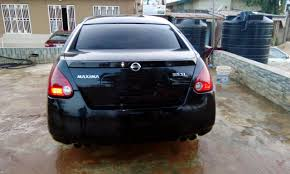 maxima nissan 2005 tokunbo 2005 nissan maxima autos nigeria