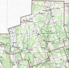 Road Map Of Pennsylvania by Venango County Pennsylvania Map