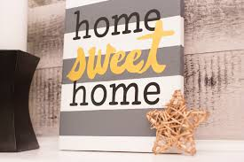 canvas decorations for home home sweet home canvas art