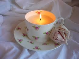 tea cup candles teacup candle