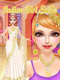 Wedding Dress Up Games For Girls Indian Salon Girls Games Android Apps On Google Play
