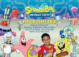 boys and girls birthday party invitations