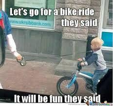 Funny Bike Memes - 30 most funniest bicycle meme pictures and images