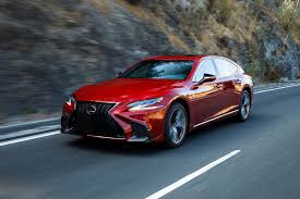 lexus burgundy 2018 lexus ls first drive not my father u0027s ls motor trend