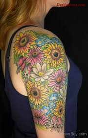 sunflower tattoos tattoo designs tattoo pictures page 12