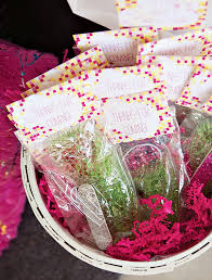 Spa Favors by Pink Yellow Modern Spa Birthday Hostess With