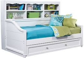 kids roomstogo shop for a gabriella winter white 3 pc bookcase daybed at rooms to