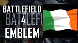 Irish Republican Army Flag Battlefield 4 Bf4 Republic Of Ireland Flag Emblem Tutorial Youtube