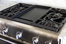 Viking 6 Burner Gas Cooktop Cosmo 36 Gas Cooktop With 6 Burners And Removable Griddle Regard
