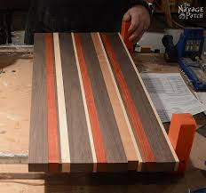 Diy End Grain End Table End Grain Cutting Board Tutorial With Plans Suitable For All Skill