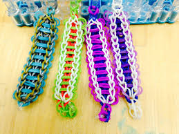 ladder rainbow loom bracelet rainbow loom craft diva stacey