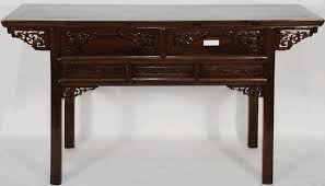 Chinese Desk Antique Asian Furniture Carved Desk Or Console Table From Futai