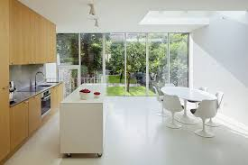 kitchen island on casters kitchens minimalist kitchen with white modrern dining set and