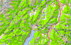 Konstanz Germany Map by Garmin Transalpine Maps Of Germany Austria Northeast Italian Alps