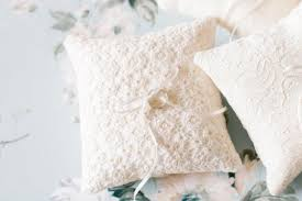 ring pillow beige lace ring bearer pillow wedding ring pillow bachelorette sash