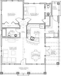 craftsman style house plan 2 beds 1 5 baths 1044 sq ft plan 485