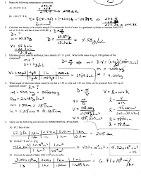 dimensional analysis problems worksheet worksheets